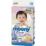 尤妮佳 (Moony) 纸尿裤 尿不湿 大号L54片 (9-14kg适用) (官方进口)
