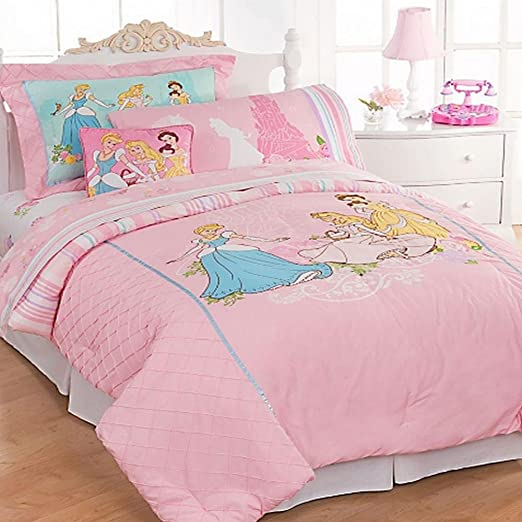 Disney Princess Elegance Bedding Comforter Full Home Kitchen