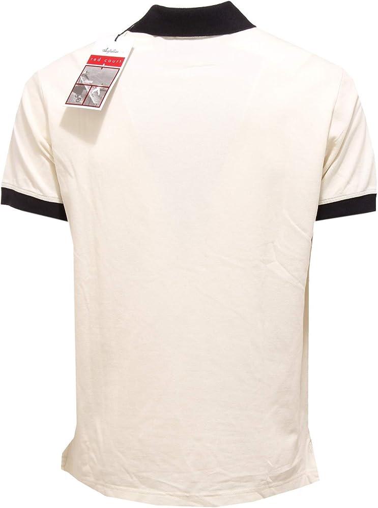 Australian 0847AA Polo uomo Red Court Cotton Polo t-Shirt Man [50 ...