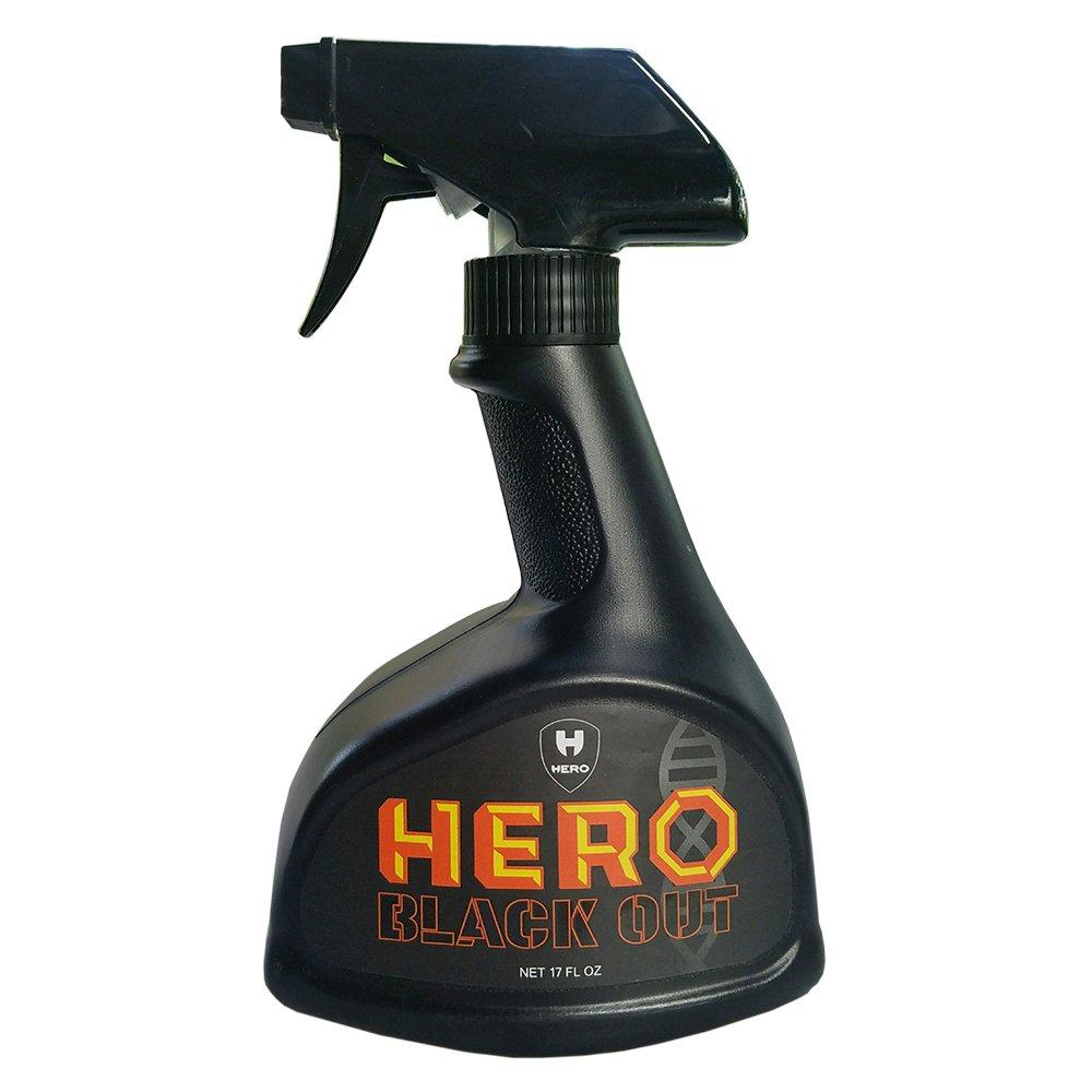 Hero Black Out - Odor Eliminating Spray Bottle