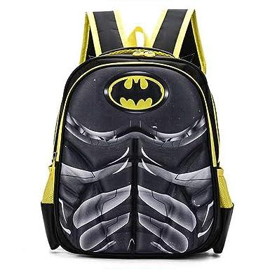 Mochilas Infantiles Mochila Escolar Para Niños Para Niños De 6-11 Años Para Niños Pequeños,Batman-35 * 30 * 15cm: Amazon.es: Ropa y accesorios