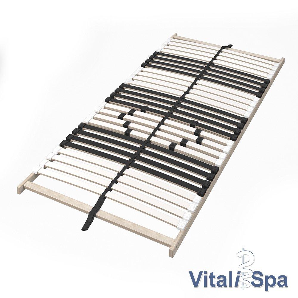 VitaliSpa Kojenbett Bett Enzo Jugendbett mit G/ästeliege Funktionsbett 90x200 cm Sonoma