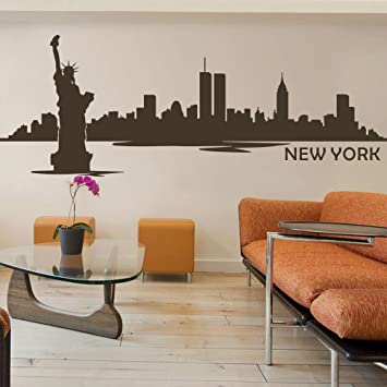Exceptional MairGwall Vinyl New York Wall Decal New York City Wall Decor New York  Skyline Wall Sticker Gallery