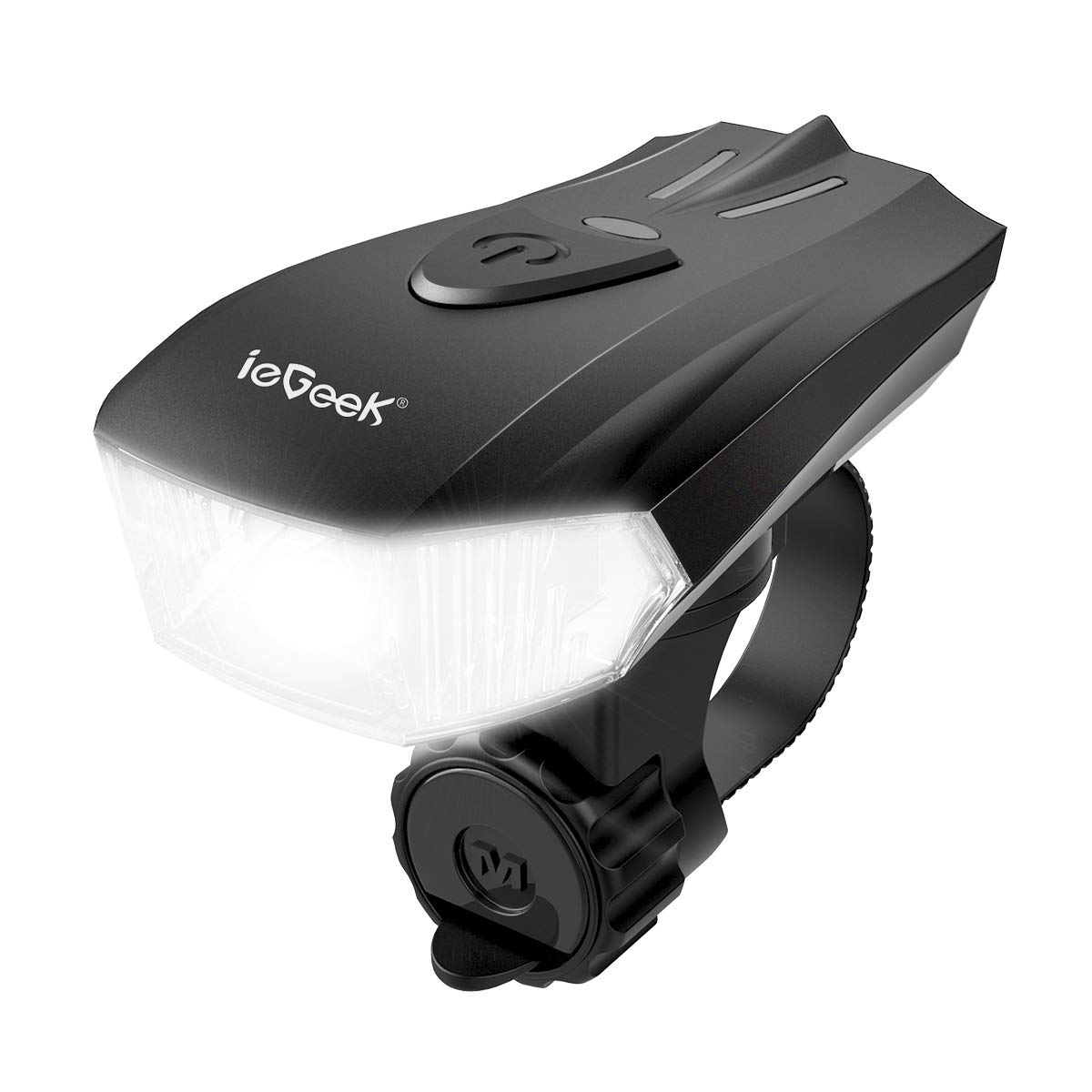 iegeek eclairage v lo lampe de v lo usb rechargeable led. Black Bedroom Furniture Sets. Home Design Ideas