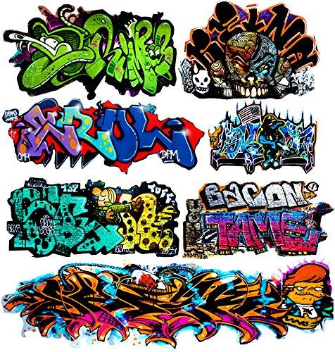 O Scale Custom Graffiti Decals #40 - Weather Your Box Cars, Hoppers & Gondolas!