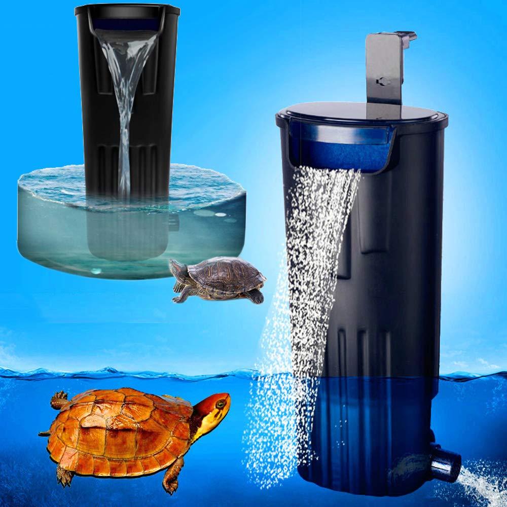 LONDAFISH Mute Turtle Filter Water Submersible Filter For Turtle Tank/Aquarium 600L/H Filtration