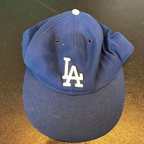 1989 Kirk Gibson Signed Game Used Los Angeles Dodgers Hat Cap COA - PSA/DNA Certified - Game Used MLB Hats ()