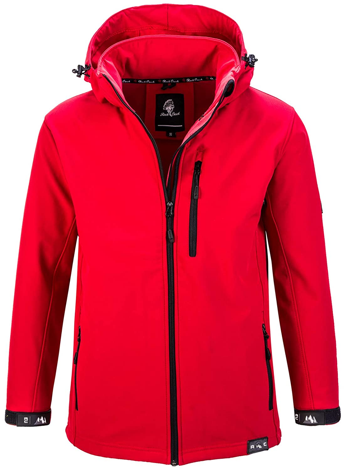 Rock Creek Chaqueta Softshell Hombre Outdoor H-168