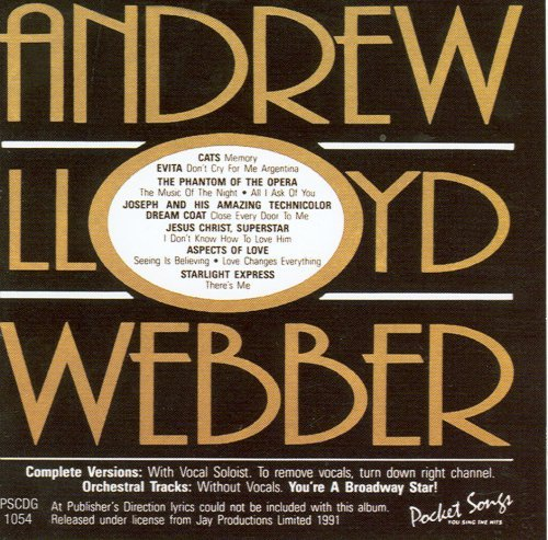 Andrew Lloyd Webber Karaoke - Karaoke: Andrew Lloyd Webber Hits by Various Artists (2011-04-12)