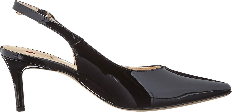 HÖGL Sky, Scarpe col Tacco con Cinturino Dietro la Caviglia Donna Nero 0100