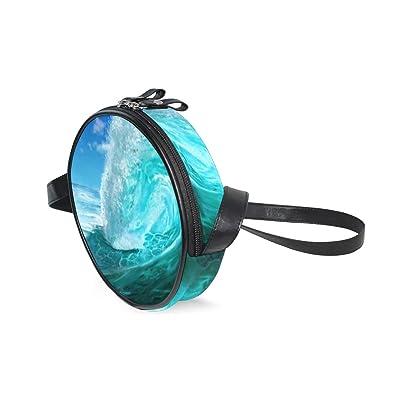 Amazon.com: Bolsas para mujer con diseño de ondas del océano ...