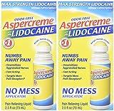 Aspercreme Odor Free Max Strength Lidocaine Pain