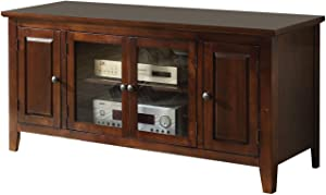 ACME Christella TV Stand - - Chocolate for Flat Screens TVs up to 60""