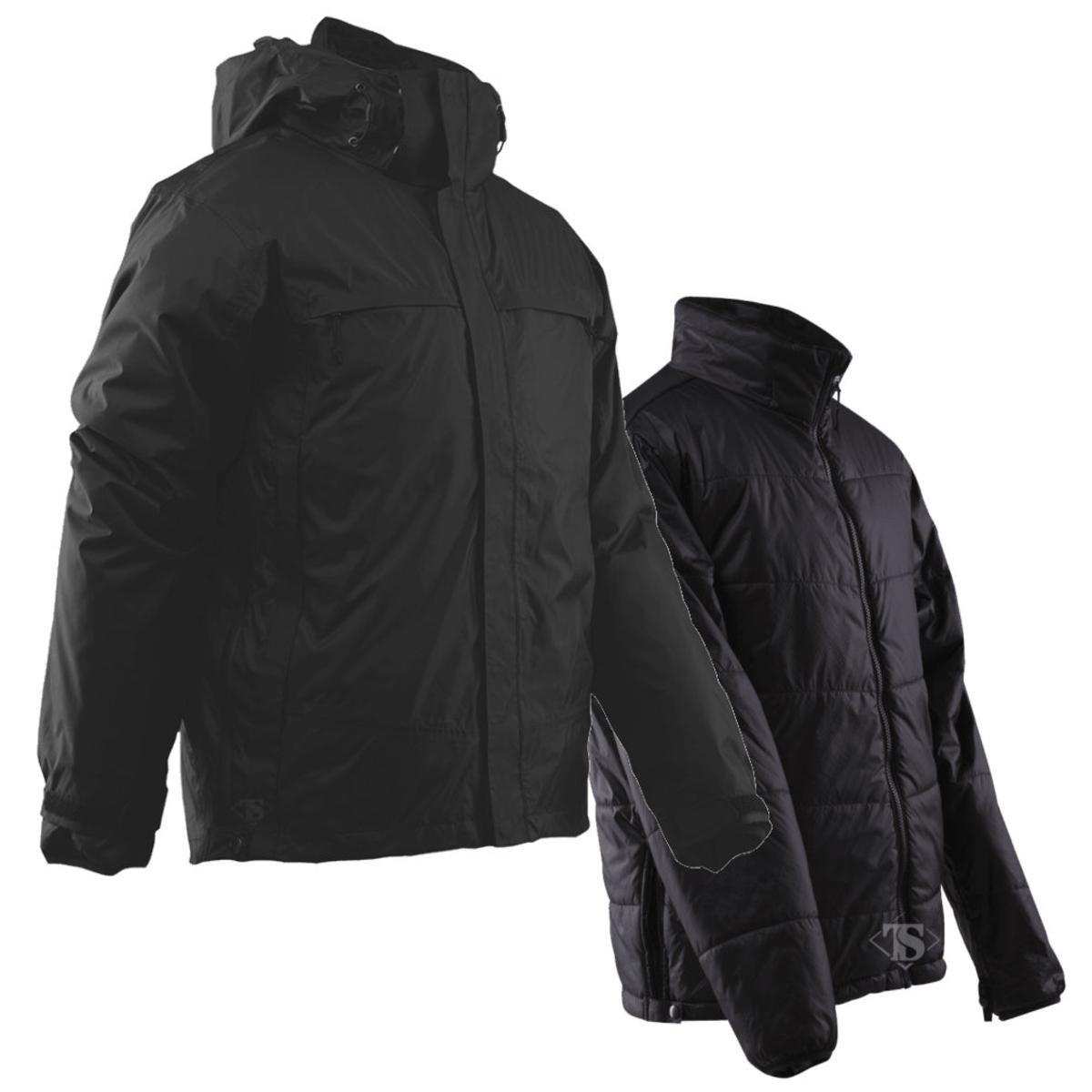TRU-SPEC 2413007 H2O Proof 3-in-1 Jacket, XX-Large Regular, Black