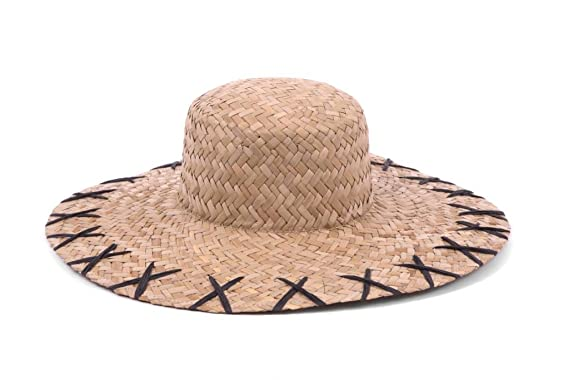 e0898436782 ale by Alessandra Women s Rebel 5-inch Brim Boater Sunhat Packable    Adjustable