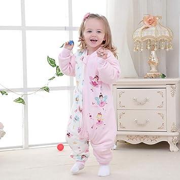 Bebé Infantil Bolsa De Dormir Baby Algodón Anti-Retroceso Es Mangas Desmontables Pierna Saco De