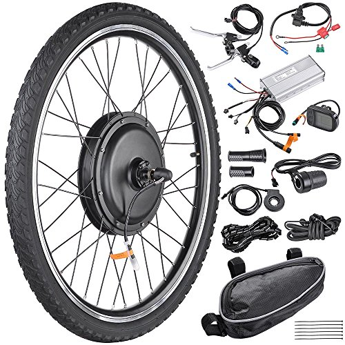 AW 26'x1.75' Front Wheel Electric Bicycle Motor...
