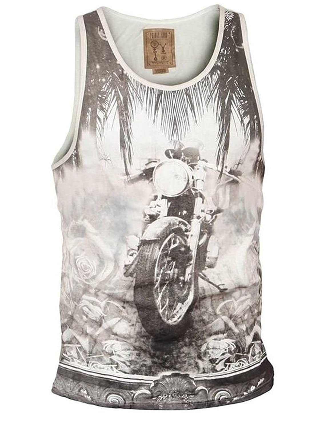 Pearly King Men's RACE Vest White (PKTS070)