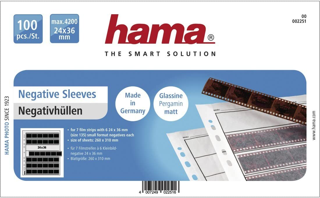 Half the Price of Kenro! Negative Glassine Storage Sleeves for 120-50 Pack ~