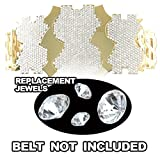 Figures Toy Company Replacement Diamonds For Adult Size WWE Million Dollar Replica Belt