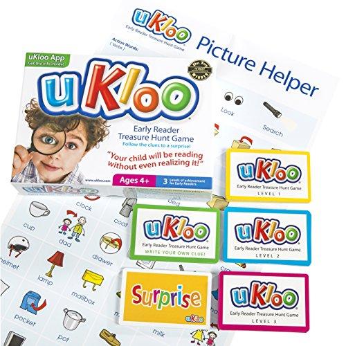 uKloo Early Reader Treasure Hunt - Reader Literacy