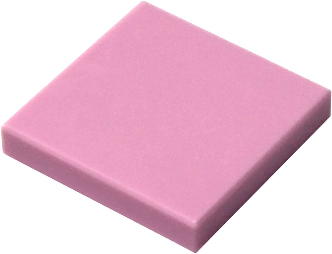 LEGO Parts and Pieces: Bright Pink (Light Purple) 2x2 Tile x20