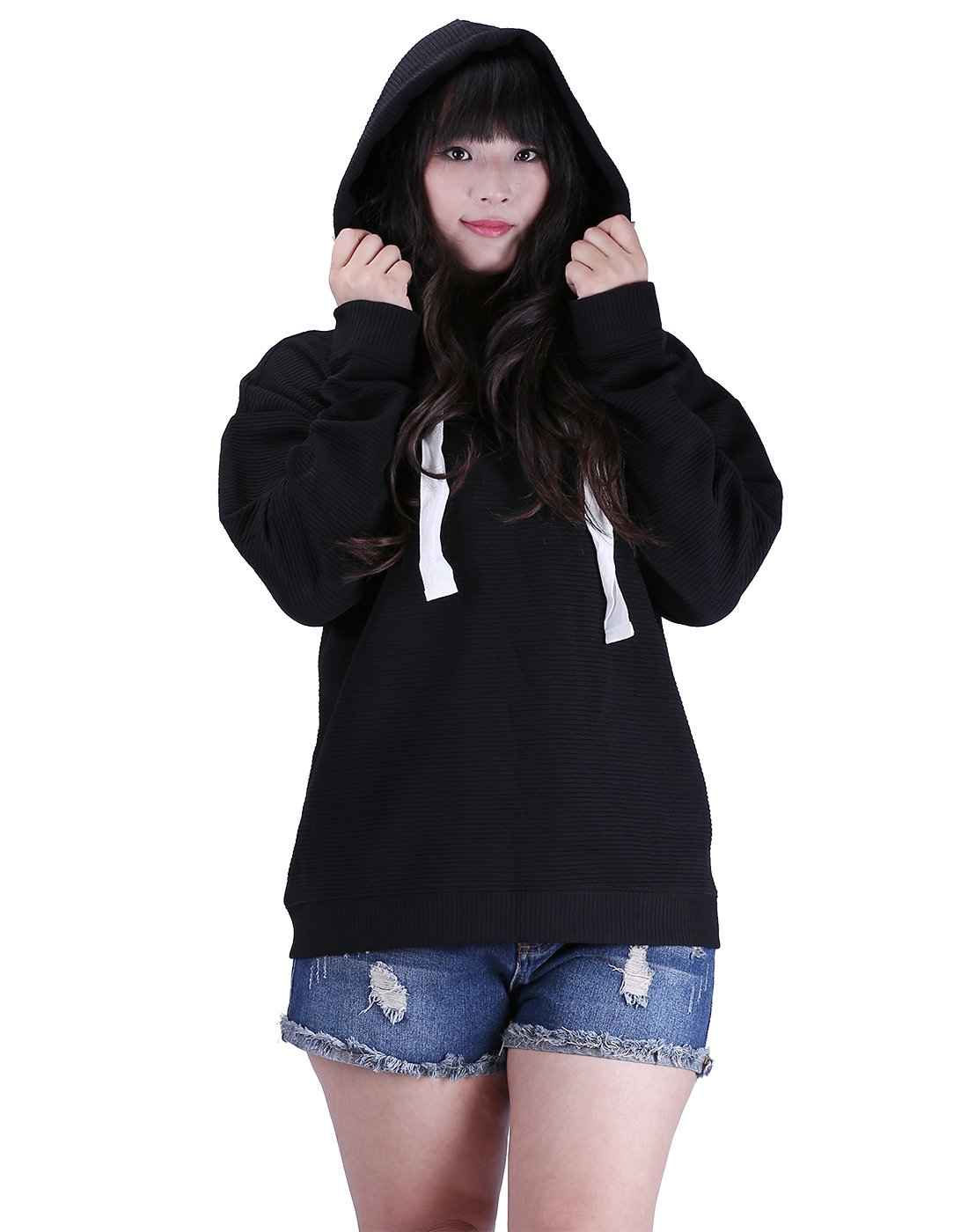 HDE Women Active Plus Size Hoodie Workout Gym Athletic Fashion Hooded Sweatshirt