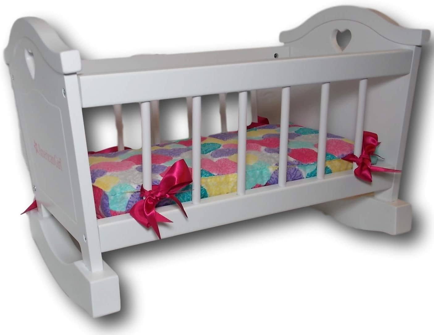 "American Girl Bitty Baby Rocking Cradle for 15"" Dolls"