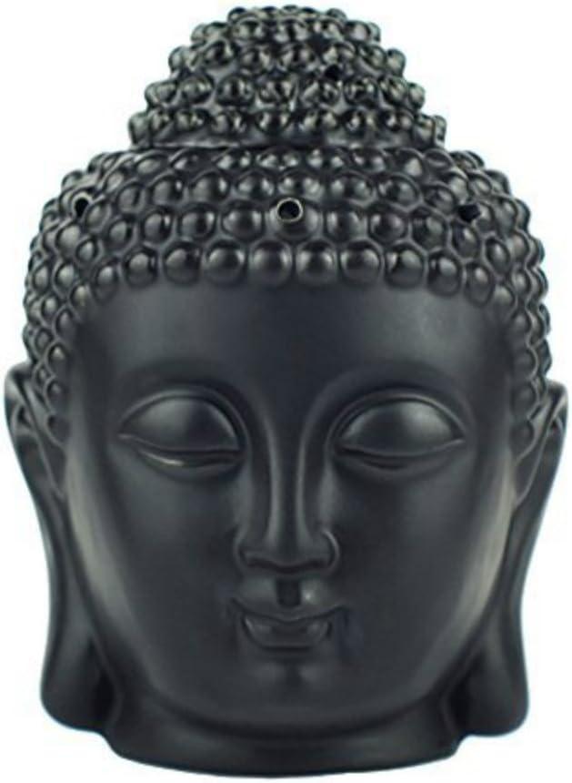 Buddha Statue Head Face Greetings Card