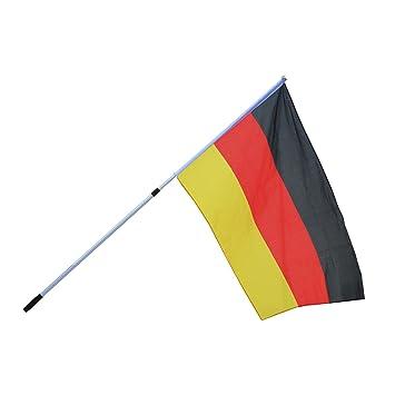 Garten Fahne Fahnenmaßt Bodenhülse Schrebergarten wetterbeständig deutschland