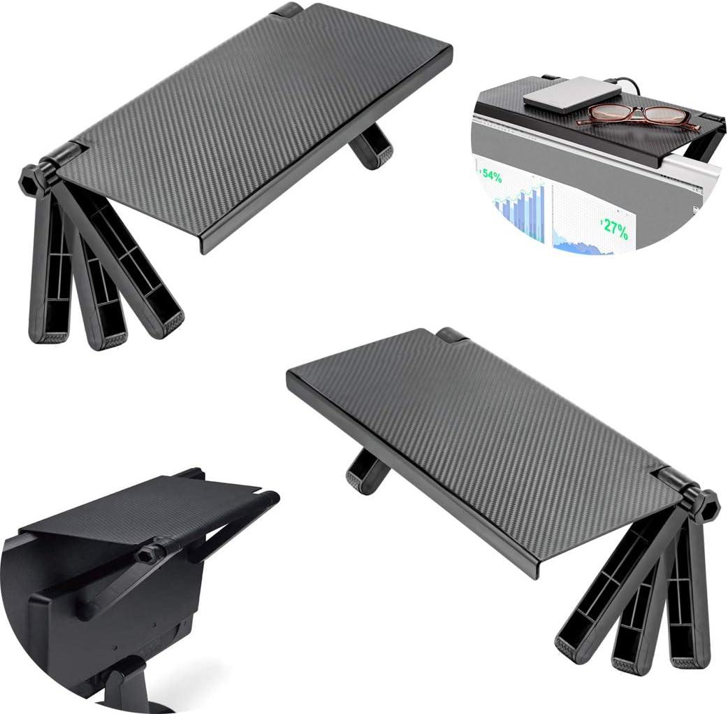 Adjustable Screen Caddy Screen TOP Shelf Desktop Storage Black Oraginal Rac O2V6