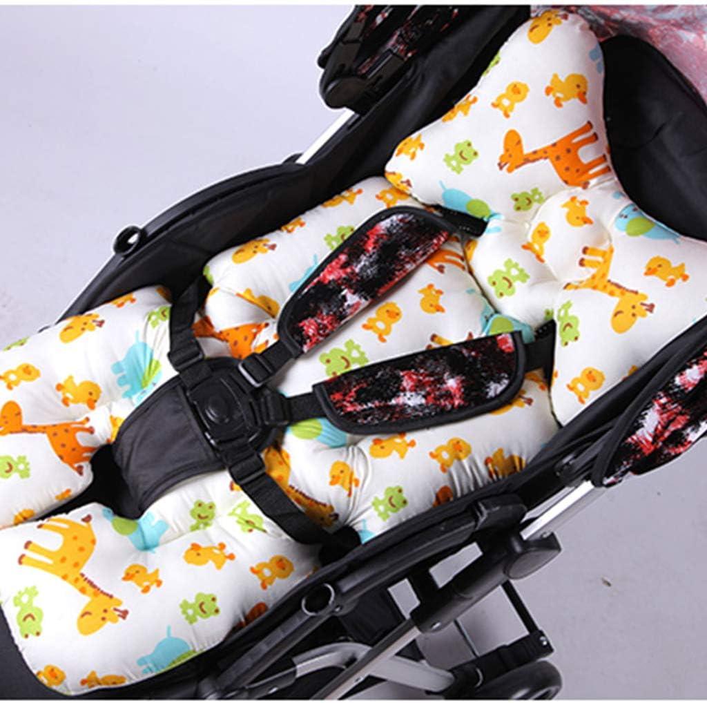 75x36x4cm Homyl Coussin de Poussette Coussin de Si/ège Accessoires de Poussettes pour Chaise Bureau Auto Voiture Style 1