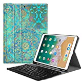 Fintie iPad Pro 10.5 Keyboard Case with Built-in Apple Pencil Holder - SlimShell Protective Cover with Magnetically Detachable Wireless Bluetooth Keyboard for Apple iPad Pro 10.5 Inch, Shades of Blue