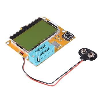 LCR-T4 Mega328 Transistor Tester Dioden Kapazität ESR SCR MOS NPN//PNP LED Röhre
