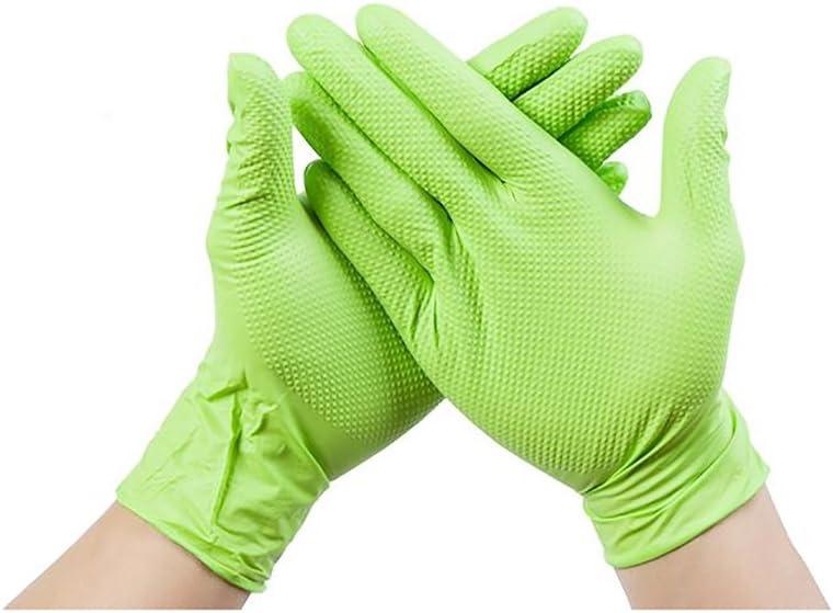 Trabajo De Laboratorio Textura Gruesa Resistente Al Desgaste Diamante. Lavado Limpio De Vajillas Guantes Dingqing 100 Resistentes Al Agua Antideslizantes Desechables Resistentes Al Agua