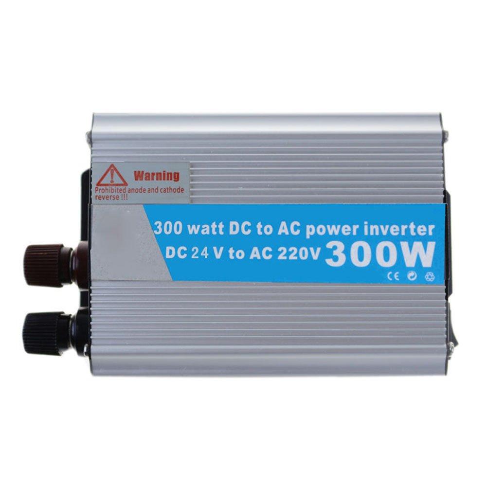 Lznlink Solar Power Inverter 300W 12V/24 DC To 220V AC Modified Wave Converter