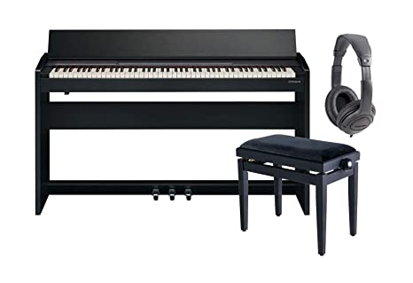 Roland f140r CB Piano Digital/mueble/auriculares/banqueta