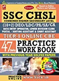 Kiran's SSC CHSL (10+2) Tier - I Online CBE Practice Work Book (with CD) - 1788