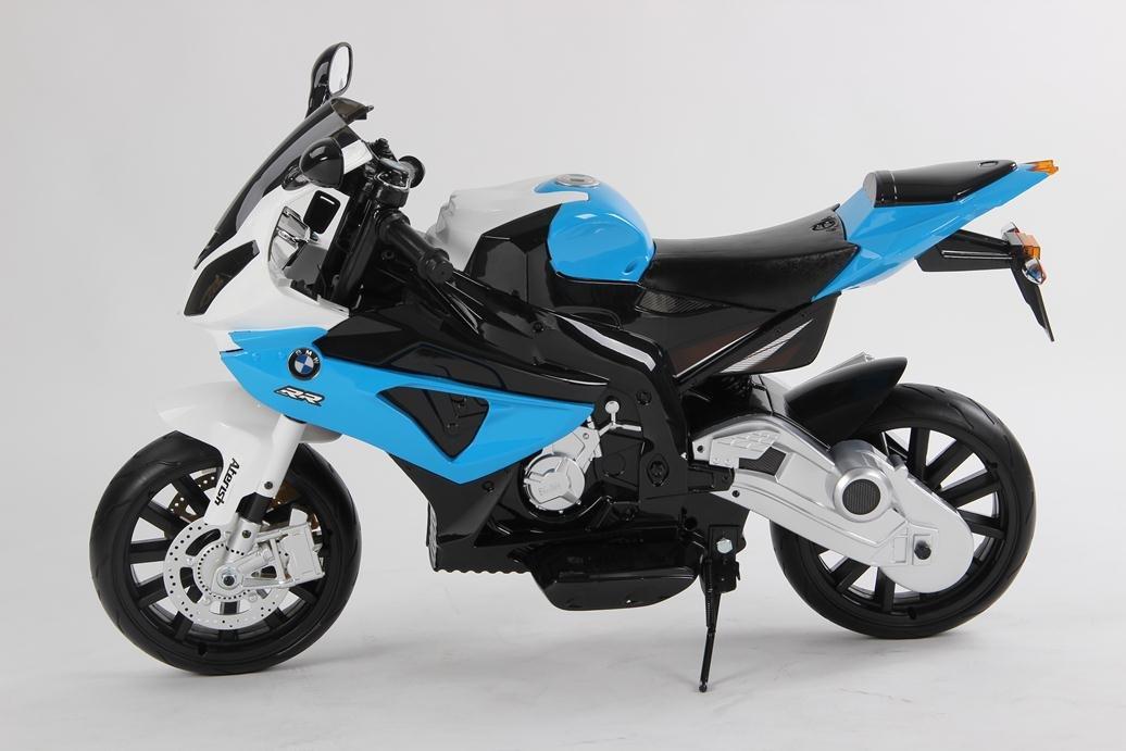 MOTO INFANTIL BMW 12V S/H SPEED S1000RR BLACK (AZUL): Amazon.es: Juguetes y juegos