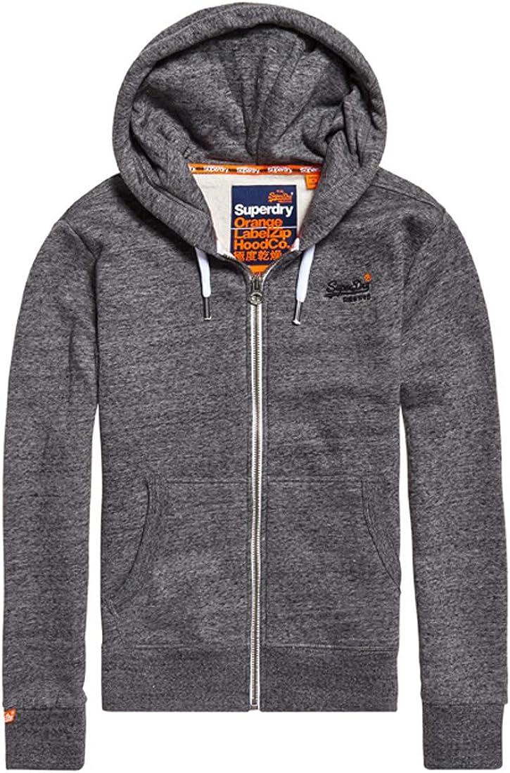 Superdry Label Ziphood suéter para Hombre