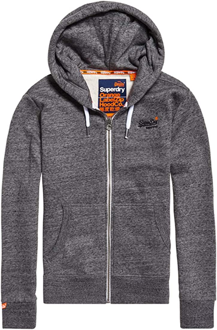 TALLA XS. Superdry Label Ziphood suéter para Hombre
