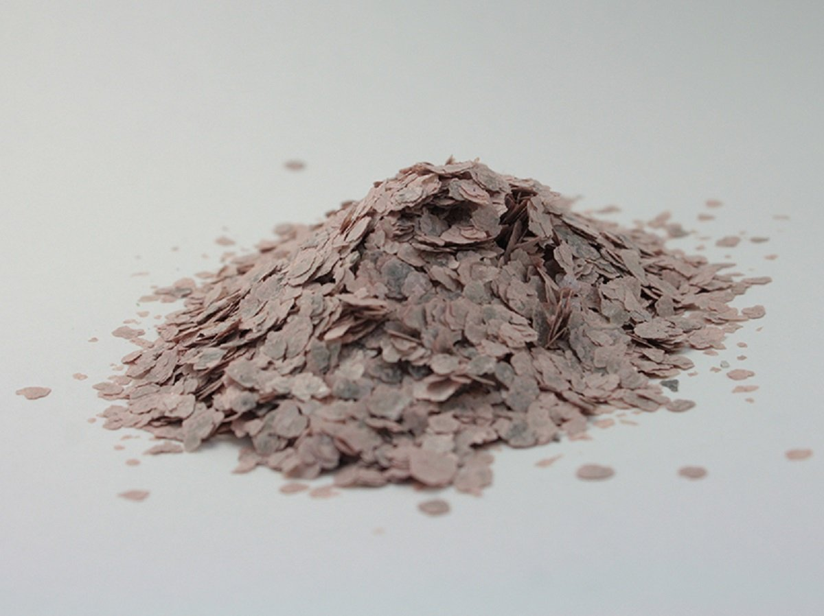 Meyer Imports Natural Mica Flakes - Rose - Dusty Pink - 4 oz - #311-4346
