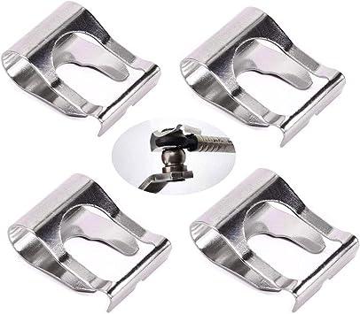 Anyasen 4 X Scheibenwischer Gestänge Reparatur Klammer Scheibenwischer Nachschneider Scheibenwischergestänge Clip Arme Link Clip Mechanismus Reparatur Auto