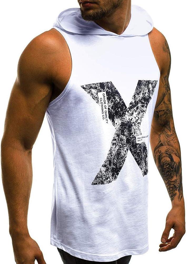 SamMoSon2019 Camisetas Elástica de Fitness sin Mangas Tank Top Gym ...