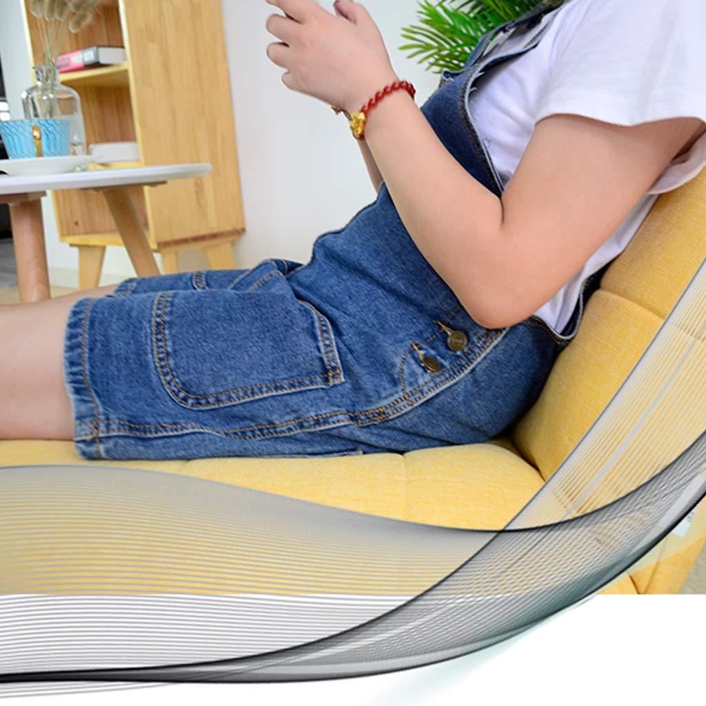 JIE KE Divano Lazy Balcony Small Sofa Lounge Chair Sedia Pigro Giapponese Seduta Simple Modern Mini Tatami Divano Singolo Comodo Divano Colore : Brown