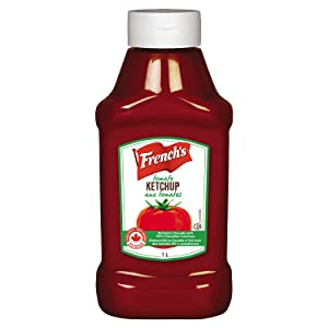 French's, Tomato Ketchup, 1L/33.8 fl.oz., {Imported from Canada}