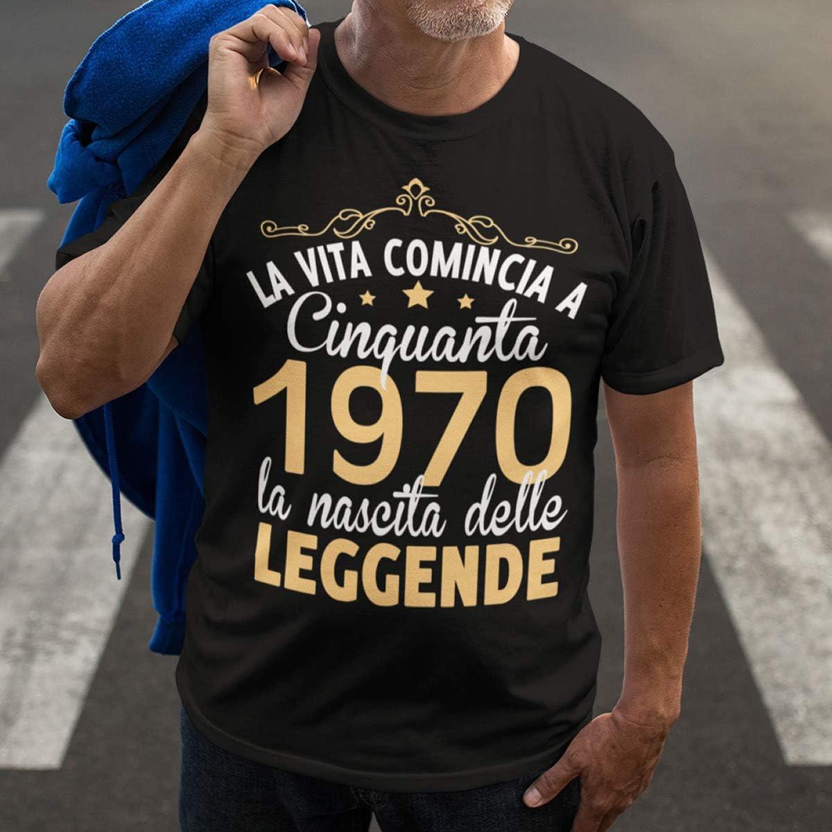 6TN Uomo Maglietta in Lingua Italiana Prodotta nel 1990 30 Anni di Vita Meravigliosa 30 /° Compleanno