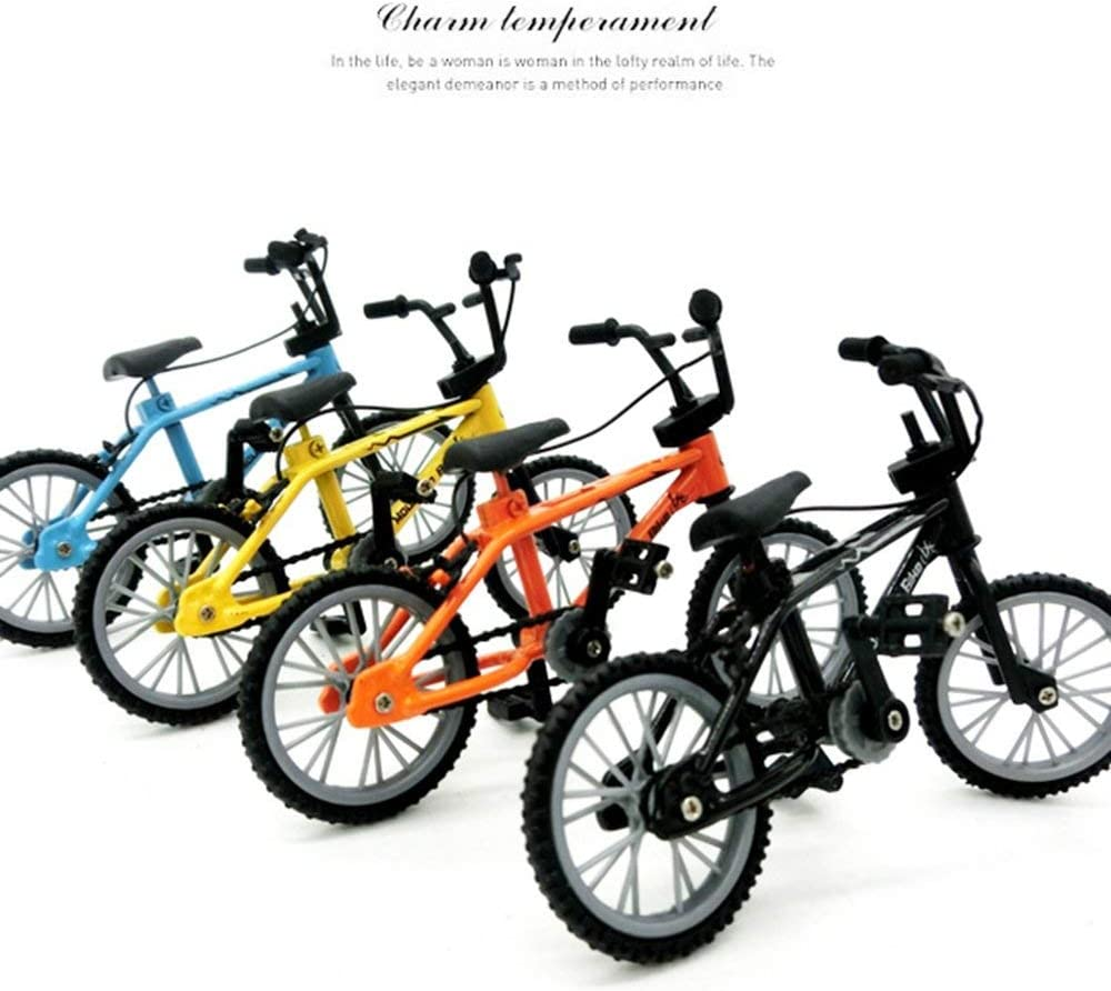 Kimberiey Mini-finger-bmx Set Bike Fans Toy Alloy Finger BMX Functional Kids Bicycle modle Finger Bike Excellent Quality Bmx Toys Gift