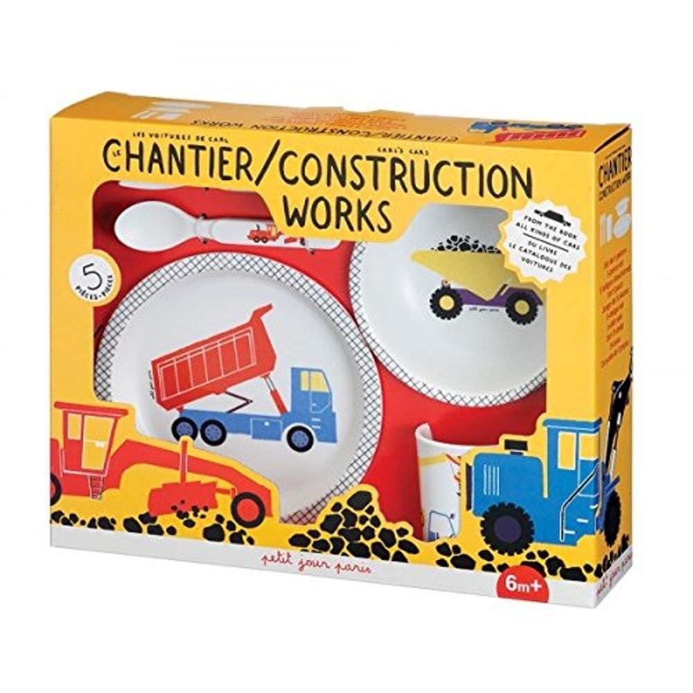 Petit Jour Paris Le Chantier Coffret Cadeau de 5 Piè ces Multicolore AC701J