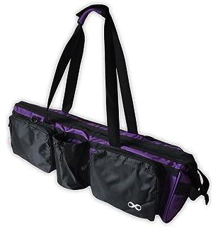 YogaAddict Yoga Mat Tote Gym Bag Supreme With Pocket   Zipper 00ed2ebc82779